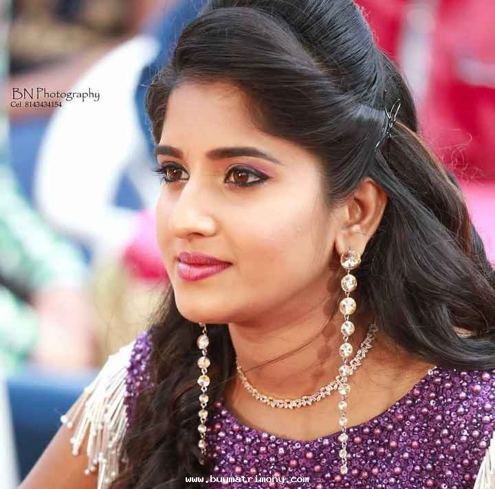 Sowmya Reddy 1492 Matrimony Profile